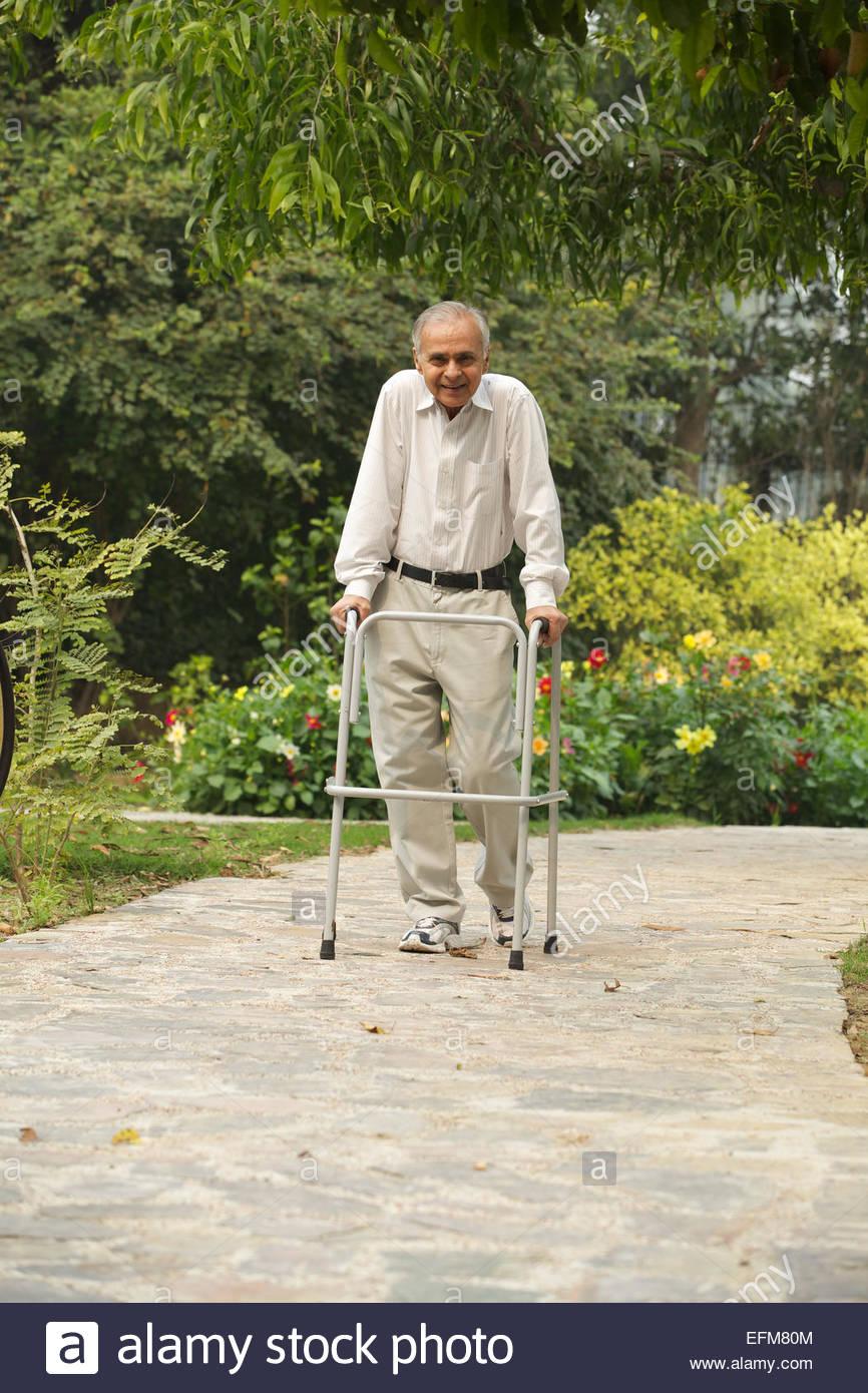 elderly man walking - photo #16