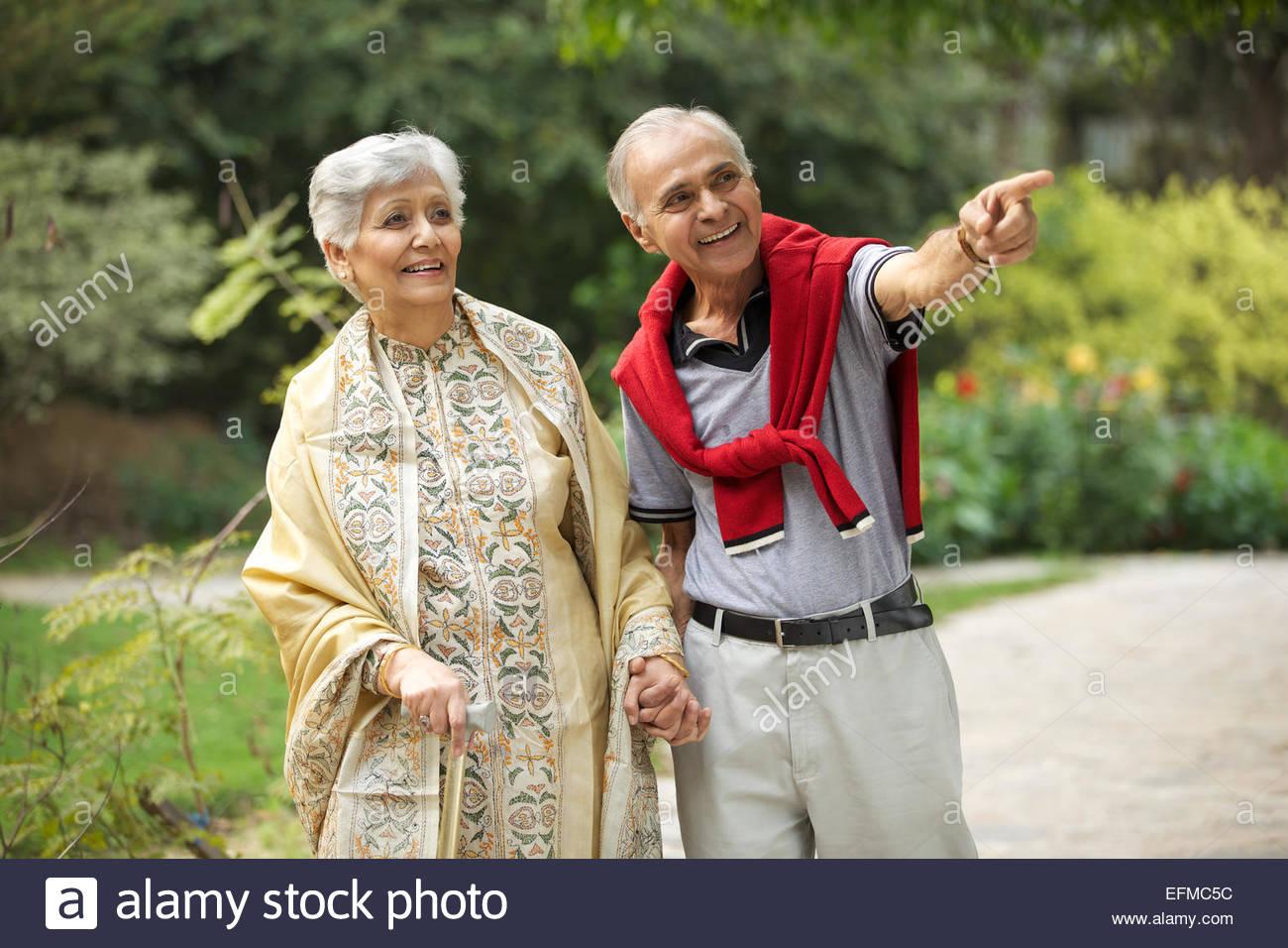 Older Couple Walking Gallery