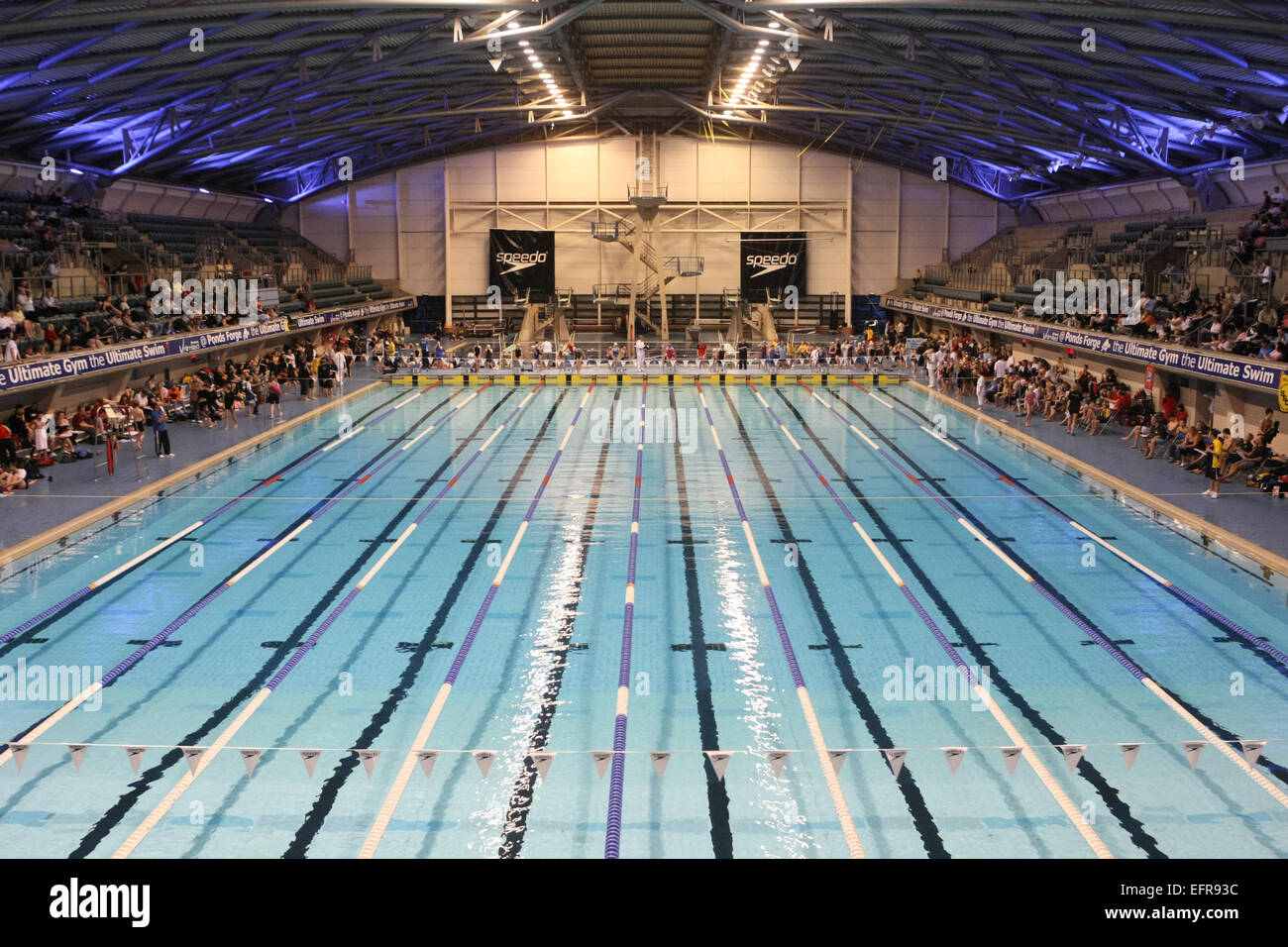 Sheffield Ponds Forge International Swimming Pool Stock Photo Royalty Free Image 78573360 Alamy