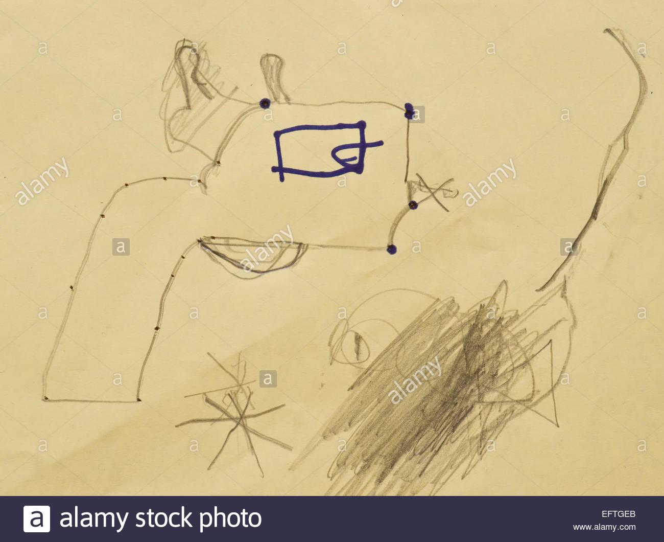 stock photo designing drawing paper gun design art artist artwork artwork artist art creativity childs childrens kid kids toy nobody single - Drawing Paper For Kids