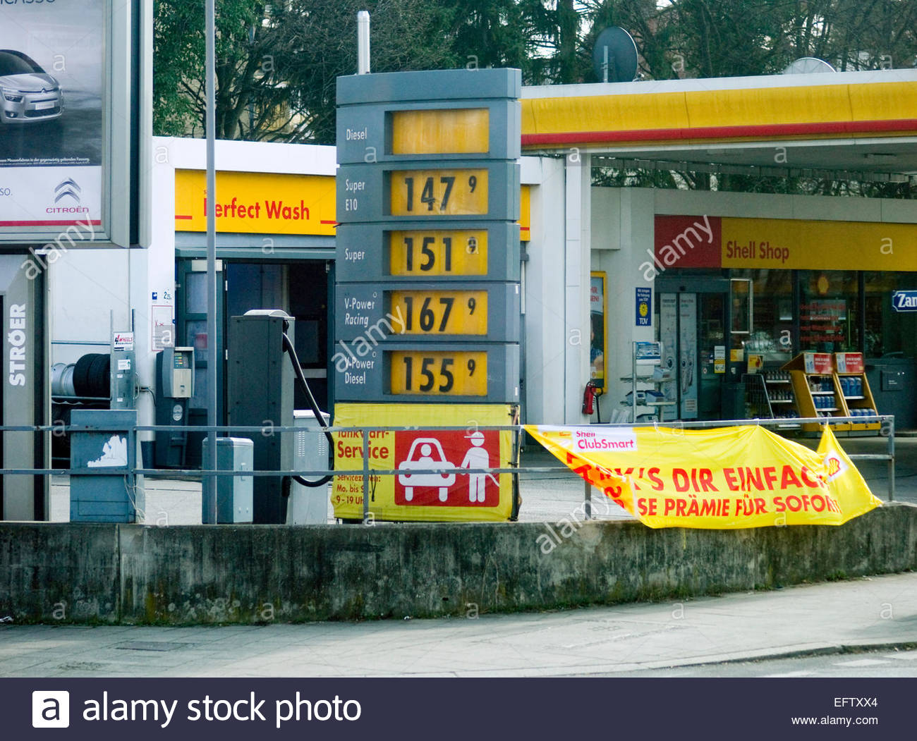 Fuel price germany