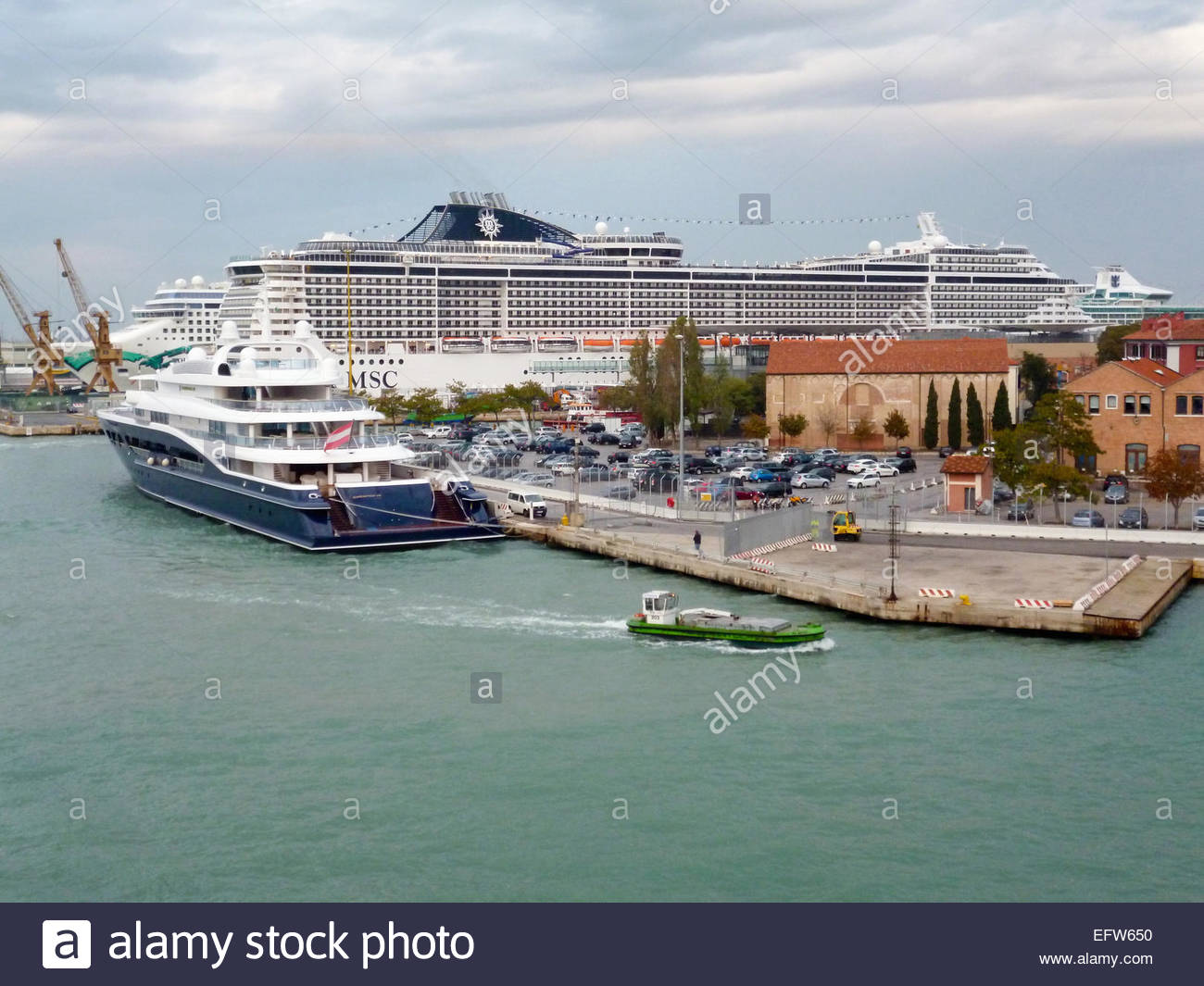Nobody Venice Cruise Terminal Port Architecture And