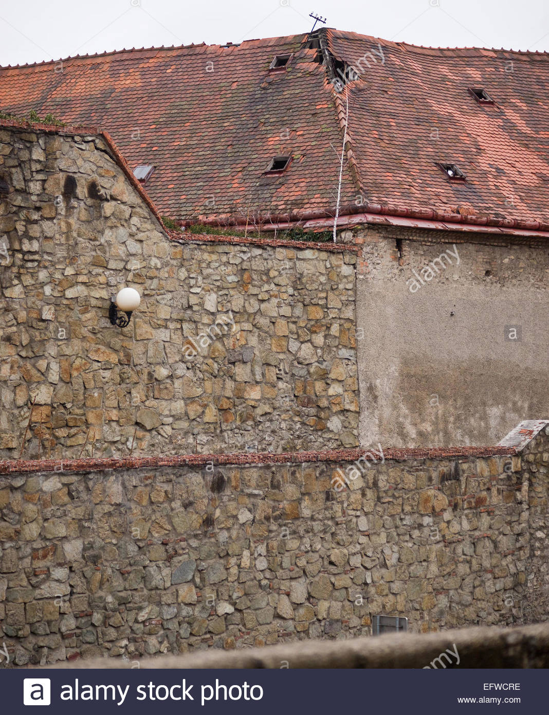Nobody ancient stone wall ceramic roof tiles red bratislava slovakia nobody ancient stone wall ceramic roof tiles red bratislava slovakia sk svk europe slovenska republika dailygadgetfo Image collections