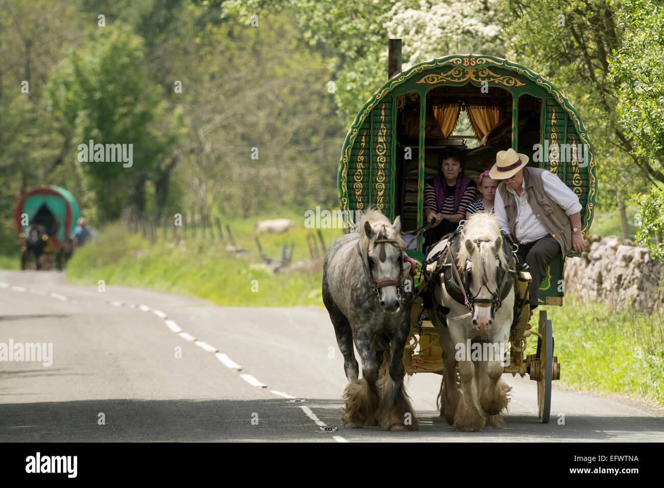 Beautiful Wanderlusts Horse Drawn Gypsy Caravan Holidays Cumbria
