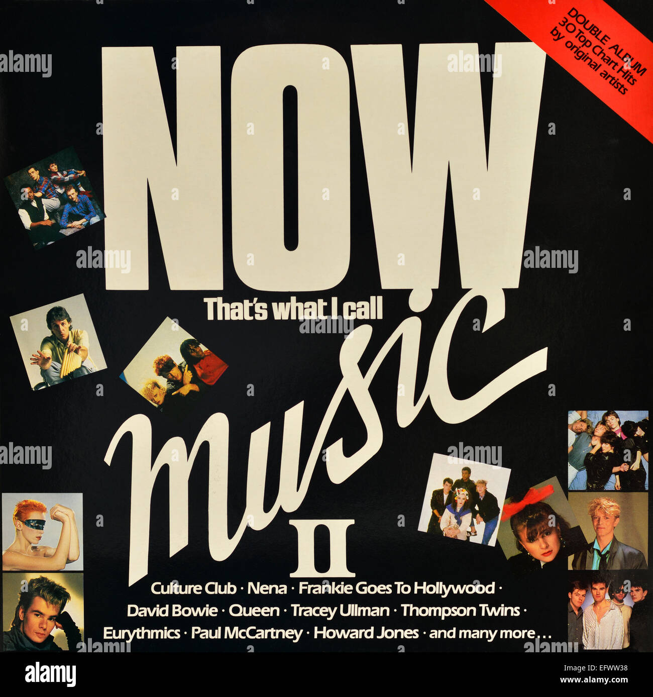 """LP vinyl album cover of """"Now That's What I Call Music 2 ..."""
