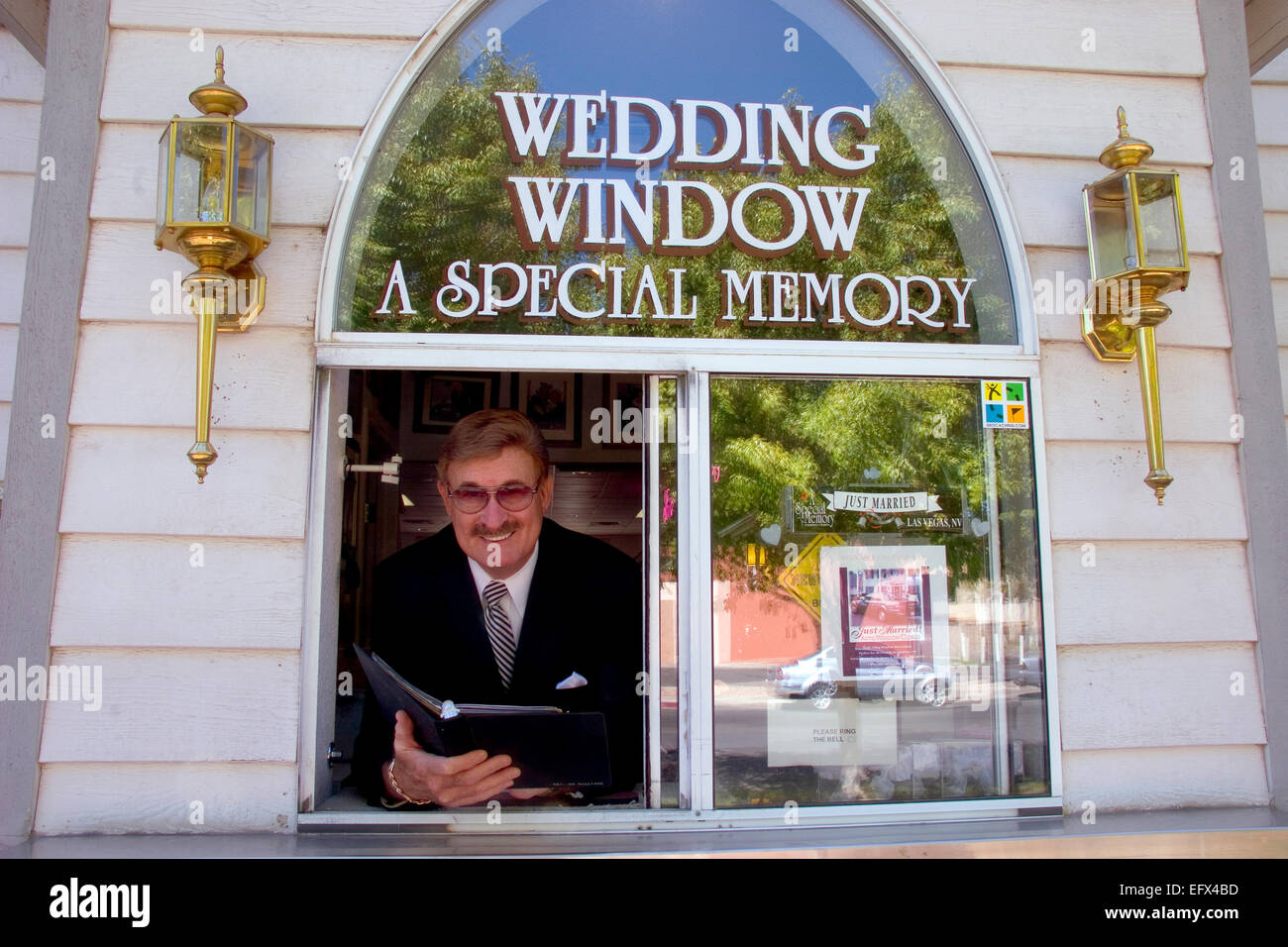 a drive up wedding chapel called a special memory does a