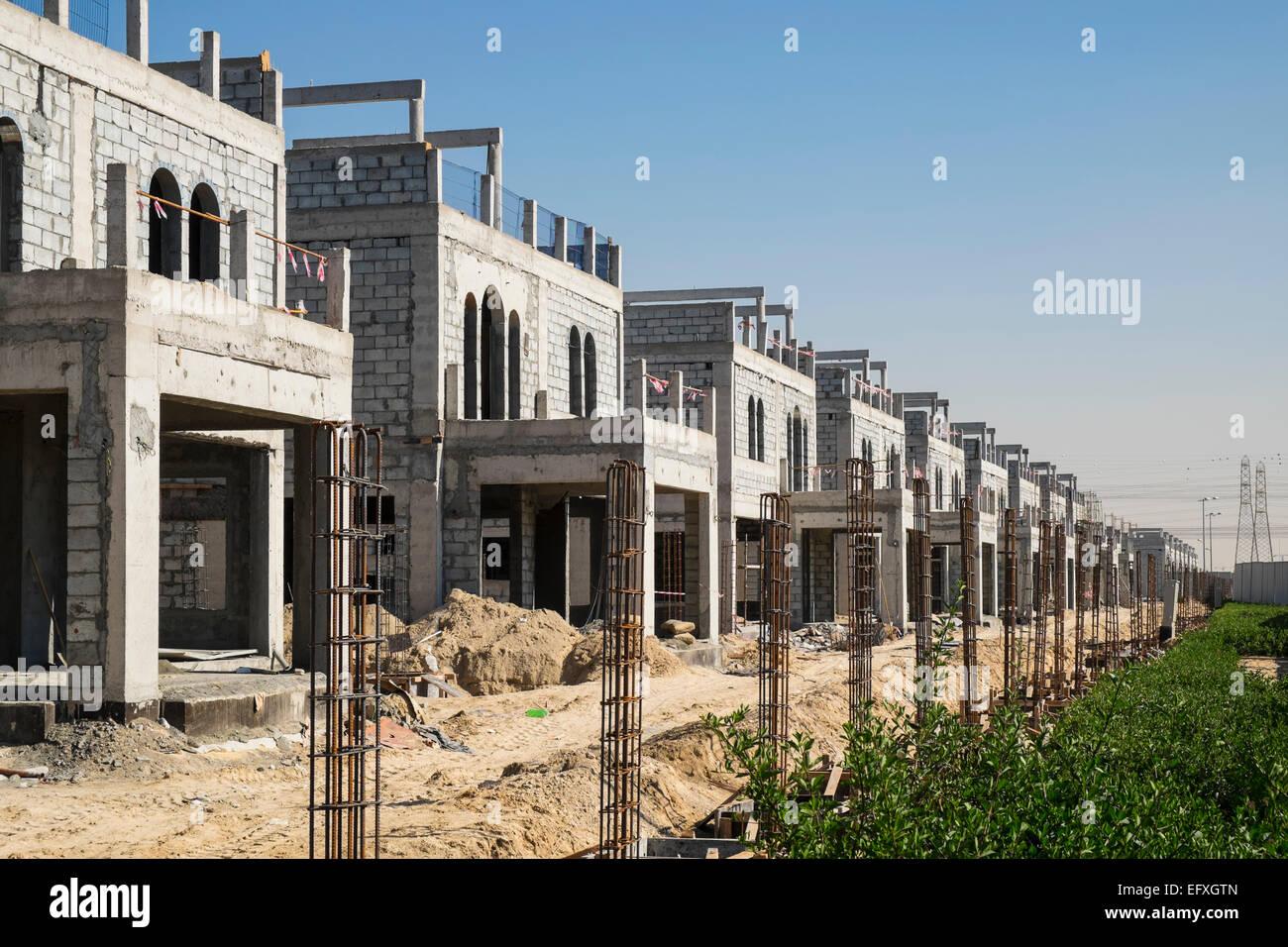 Construction of new luxury villas in dubai united arab for Construction villa