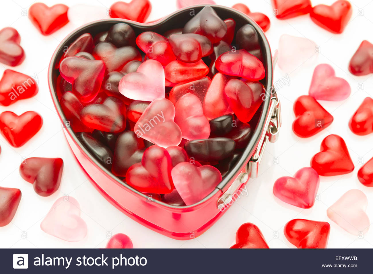 Valentine wallpaper with heart shaped mold filled with heart jelly valentine wallpaper with heart shaped mold filled with heart jelly beans voltagebd Choice Image