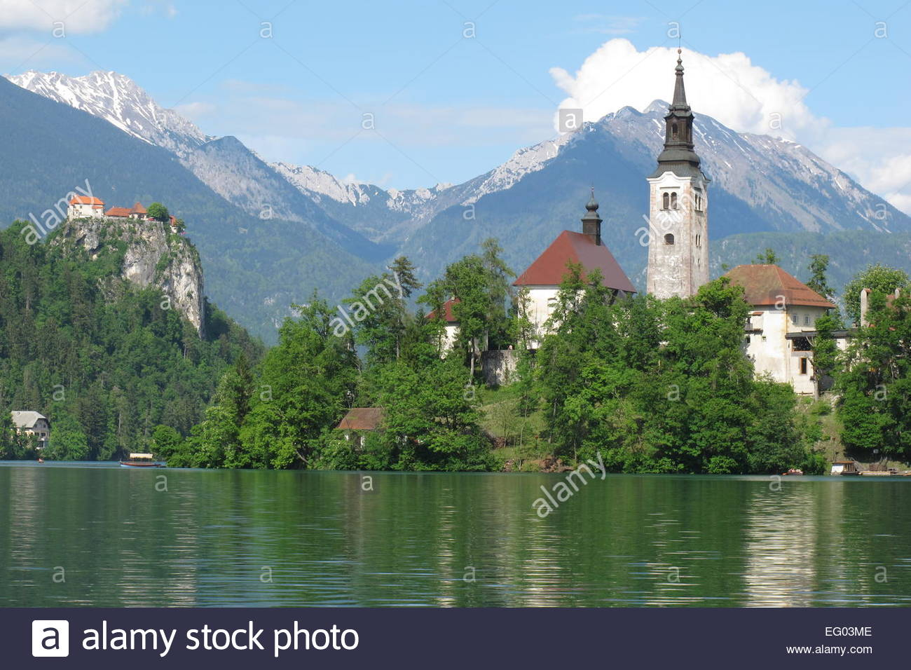 Slovenia nature lake bled church cathedral wallpaper | 2560x1440 ...