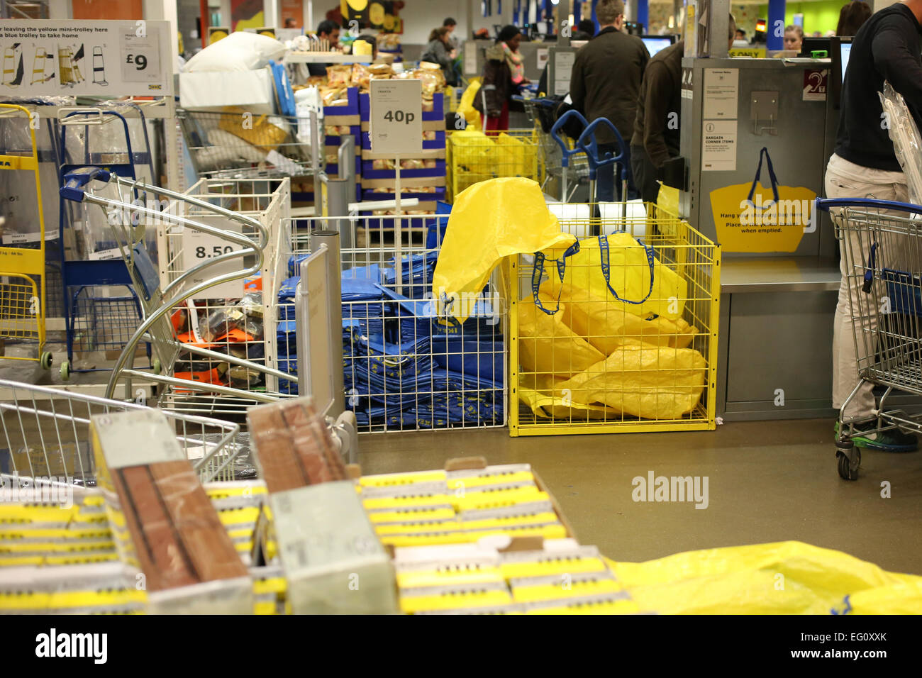 Checkout tills at ikea store in lakeside thurrock essex for Ikea shops london