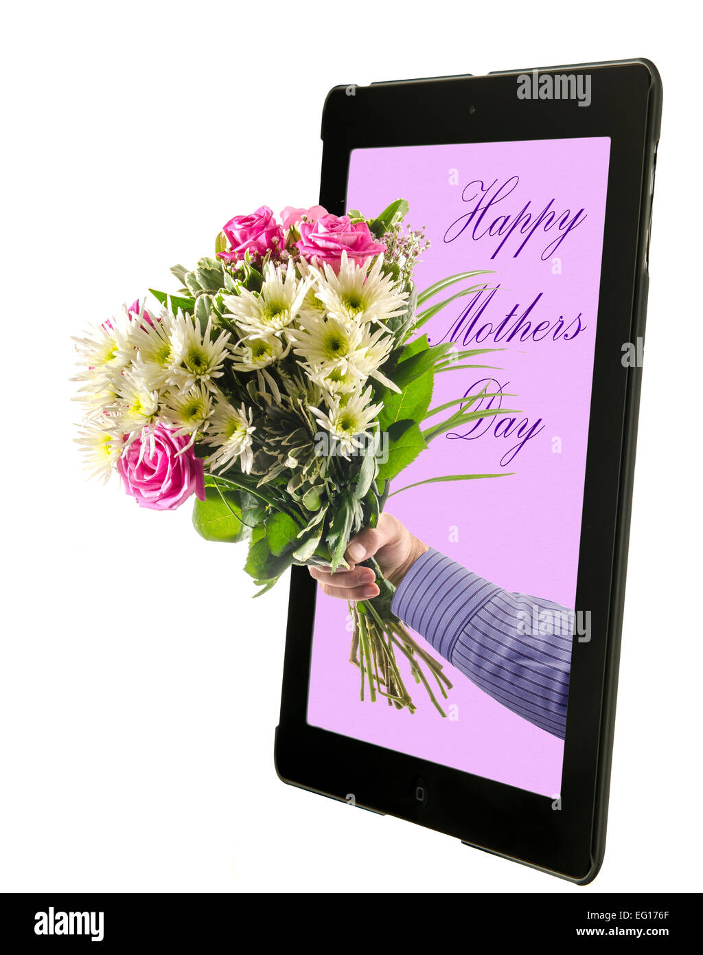 Mothers day coloring online - Concept Image Of Sending Mothers Day Flowers Online Stock Photo Concept Image Of Sending Mothers Day Flowers Online Stock Photo