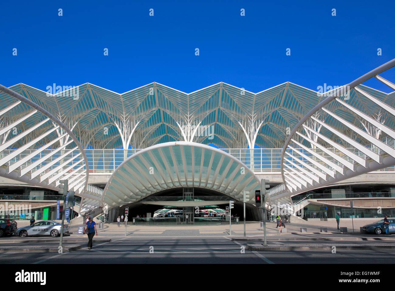 Oriente station gare do oriente modern architecture for Architektur lissabon