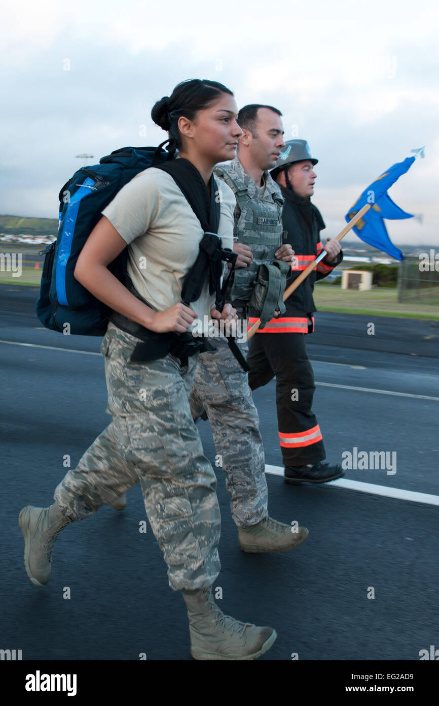 from left u s air force senior airman hannah meza th medical from left u s air force senior airman hannah meza 65th medical squadron medical technician staff sgt zackery vaught 65th security forces squadron