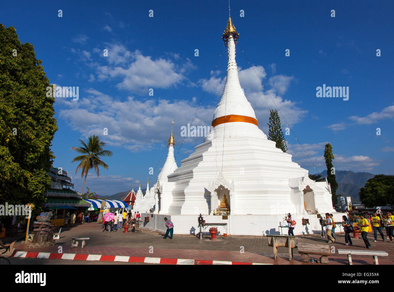 Wat Phra That Doi Kong Mu Temple in Mae Hong Son, Northern ...