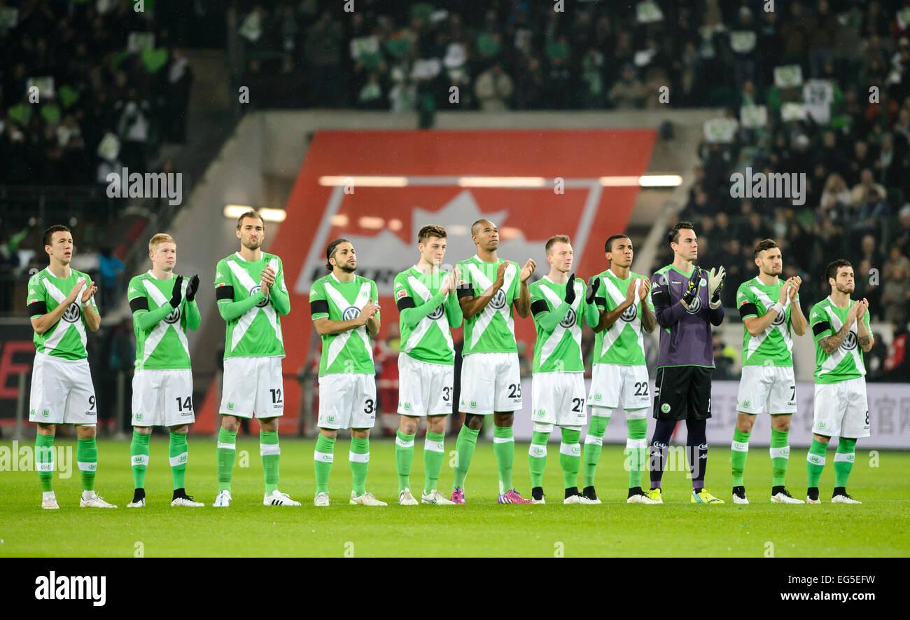 Wolfsburg, Germany. 30th Jan, 2015. Wolfsburg's Ivan