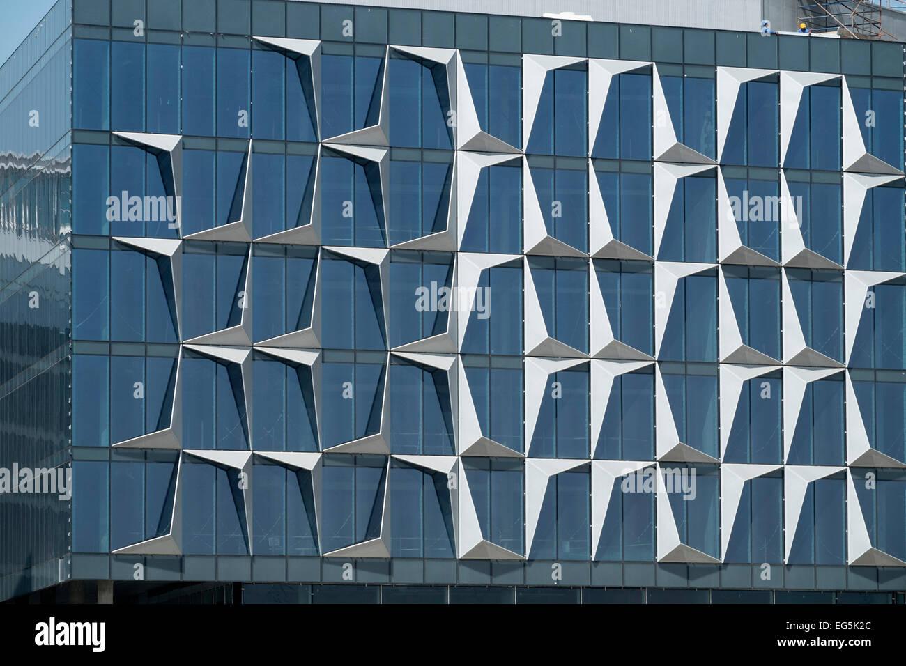 Detail of architecture of windows at new dubai design for Windows 8 architecture