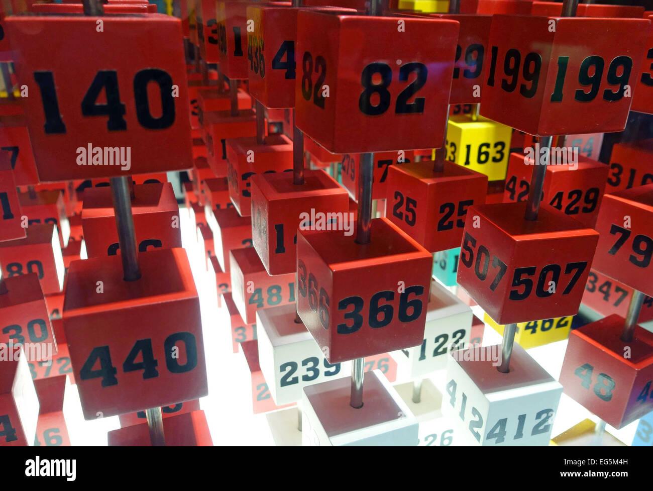 worksheet Numbered Grid 3d grid of numbered cubes in elder science museum las palmas de gran canaria
