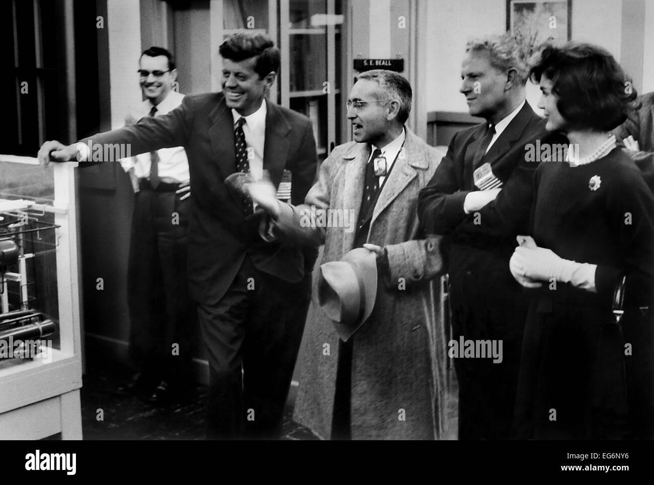 John F Kennedy, Dr Alvin Weinburg, Sen Al Gore