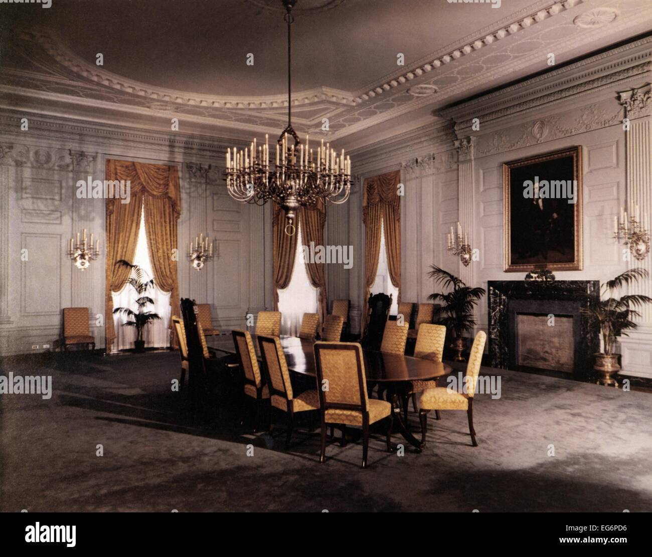 Executive Dining Room: Renovation Of The Executive Mansion During The Truman