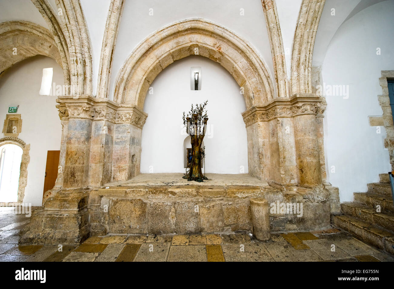 The Tree Of Life In The Last Supper Room The Last