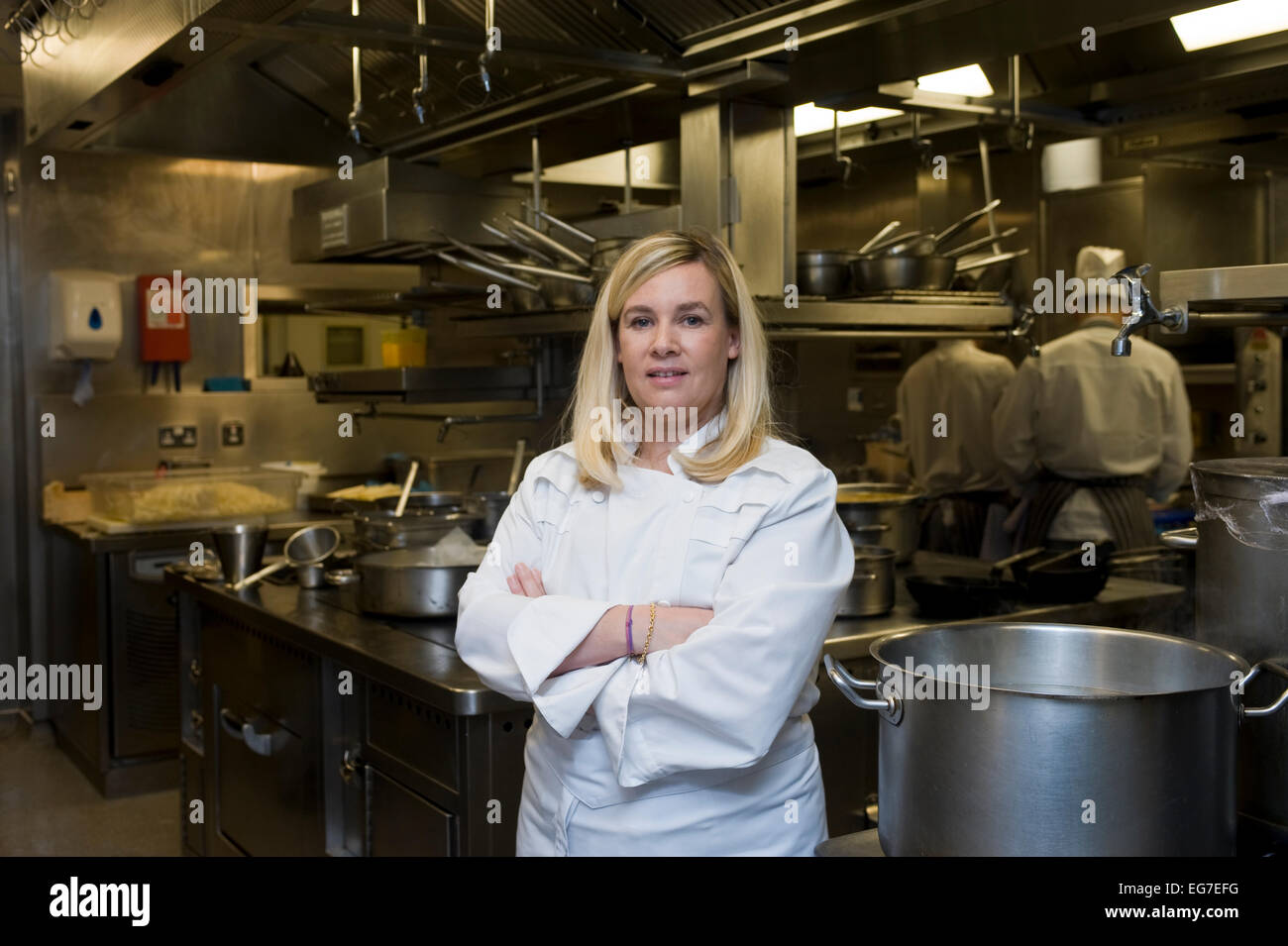 helene darroze chef at the michelin starred connaught hotel in stock photo 78841044 alamy. Black Bedroom Furniture Sets. Home Design Ideas