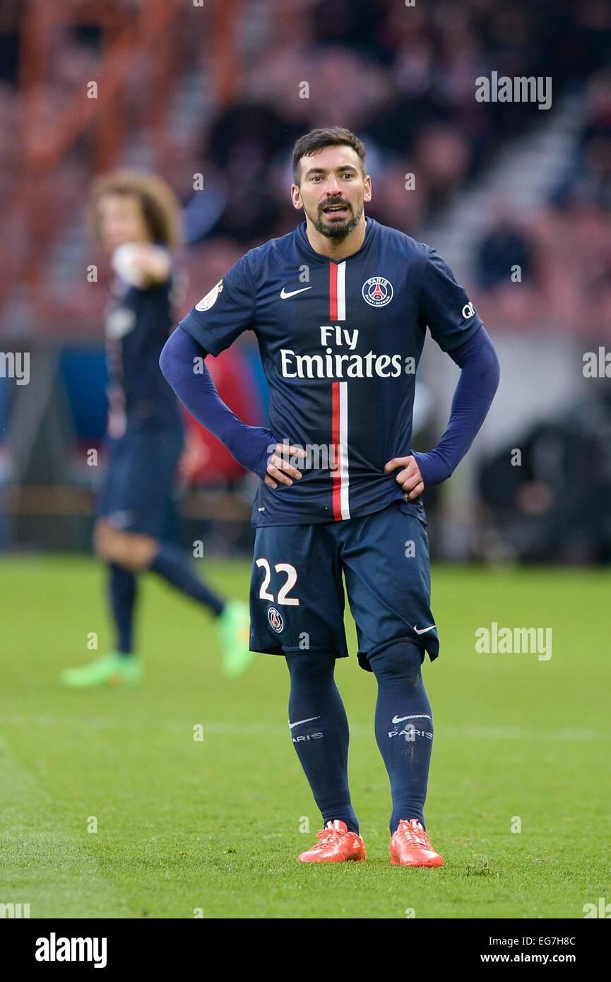 Ezequiel Lavezzi 14 02 2015 Paris Saint Germain Caen 25eme
