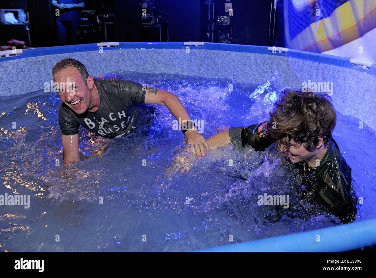 Union J Perform And Get Wet At G A Y Pool Party Featuring Union Stock Photo Royalty Free Image
