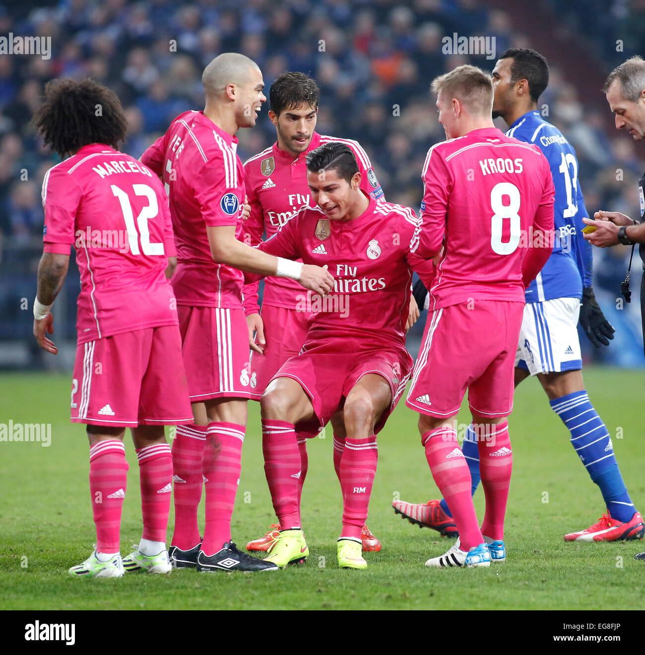 Cristiano Ronaldo Real Madrid Pepe Toni Kroos Champions League Match