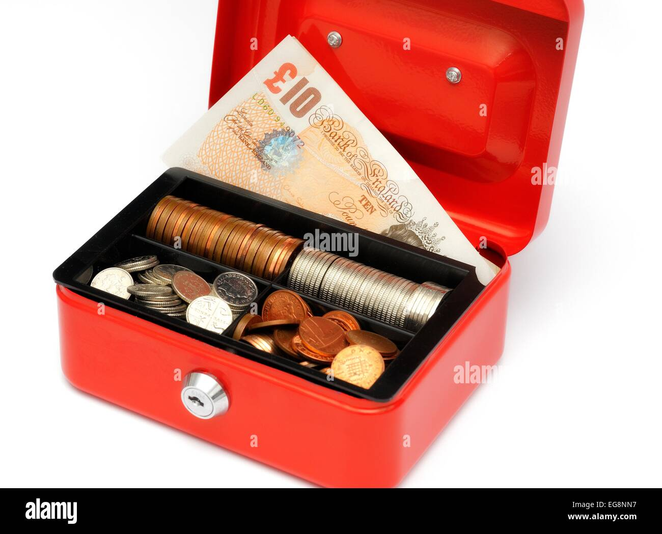 how to open a money tin