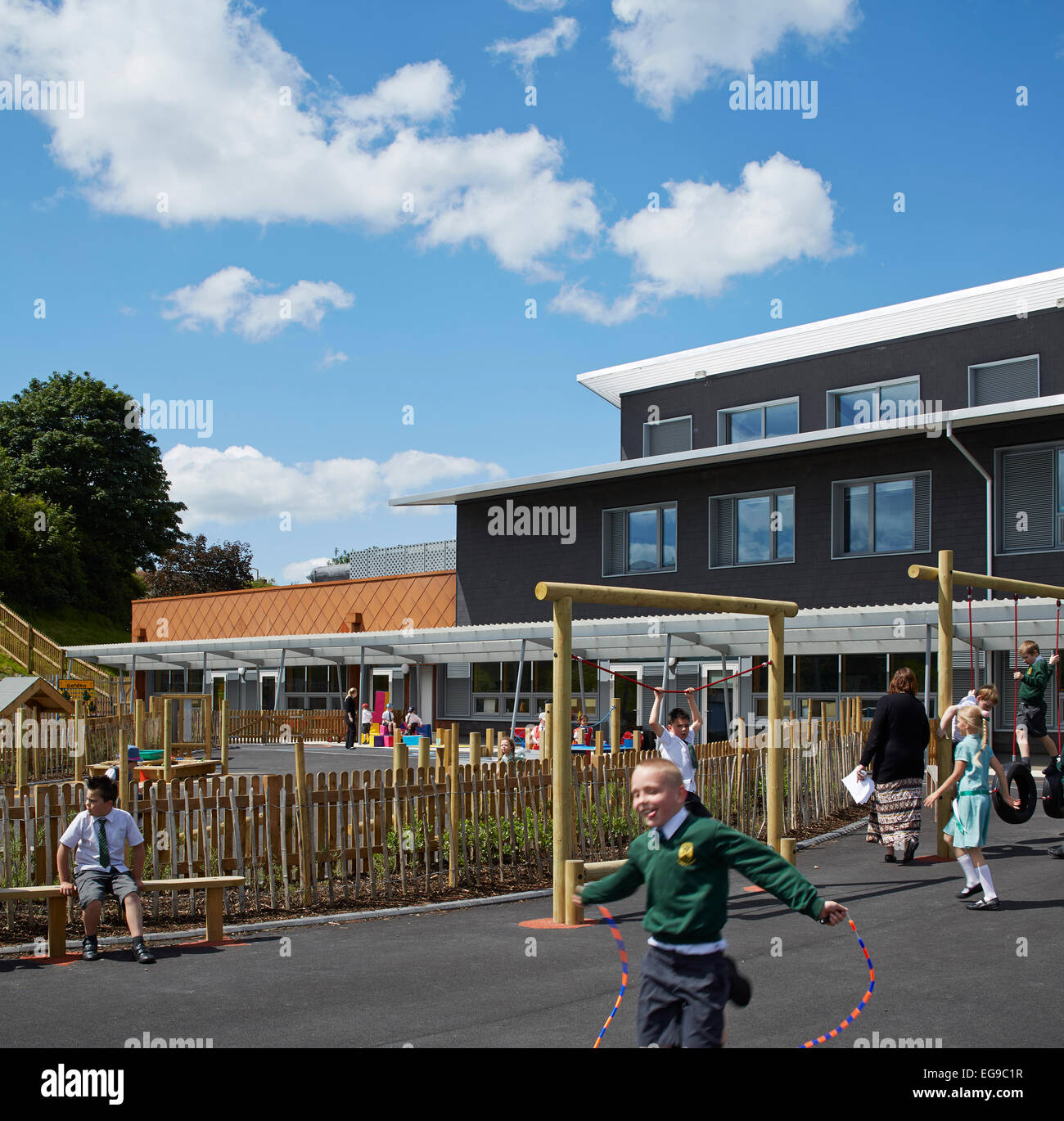 Wolverhampton United Kingdom  city photos gallery : Stock Photo Wilkinson Primary School, Wolverhampton, United Kingdom ...