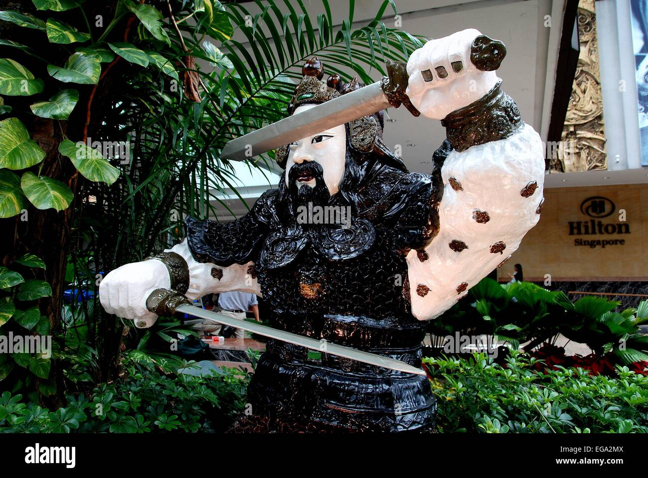 Picturesque The Orchard Hotel Stock Photos  The Orchard Hotel Stock Images  With Glamorous Singapore A Japanese Samurai Sculpture Stands In Front Of The Hilton  Singapore Hotel On Orchard With Appealing Garden Centre Uk Also India Gardens In Addition Low Garden Fencing And Garden Centres Norwich As Well As Merryhatton Garden Centre Additionally Free Garden Planner From Alamycom With   Glamorous The Orchard Hotel Stock Photos  The Orchard Hotel Stock Images  With Appealing Singapore A Japanese Samurai Sculpture Stands In Front Of The Hilton  Singapore Hotel On Orchard And Picturesque Garden Centre Uk Also India Gardens In Addition Low Garden Fencing From Alamycom