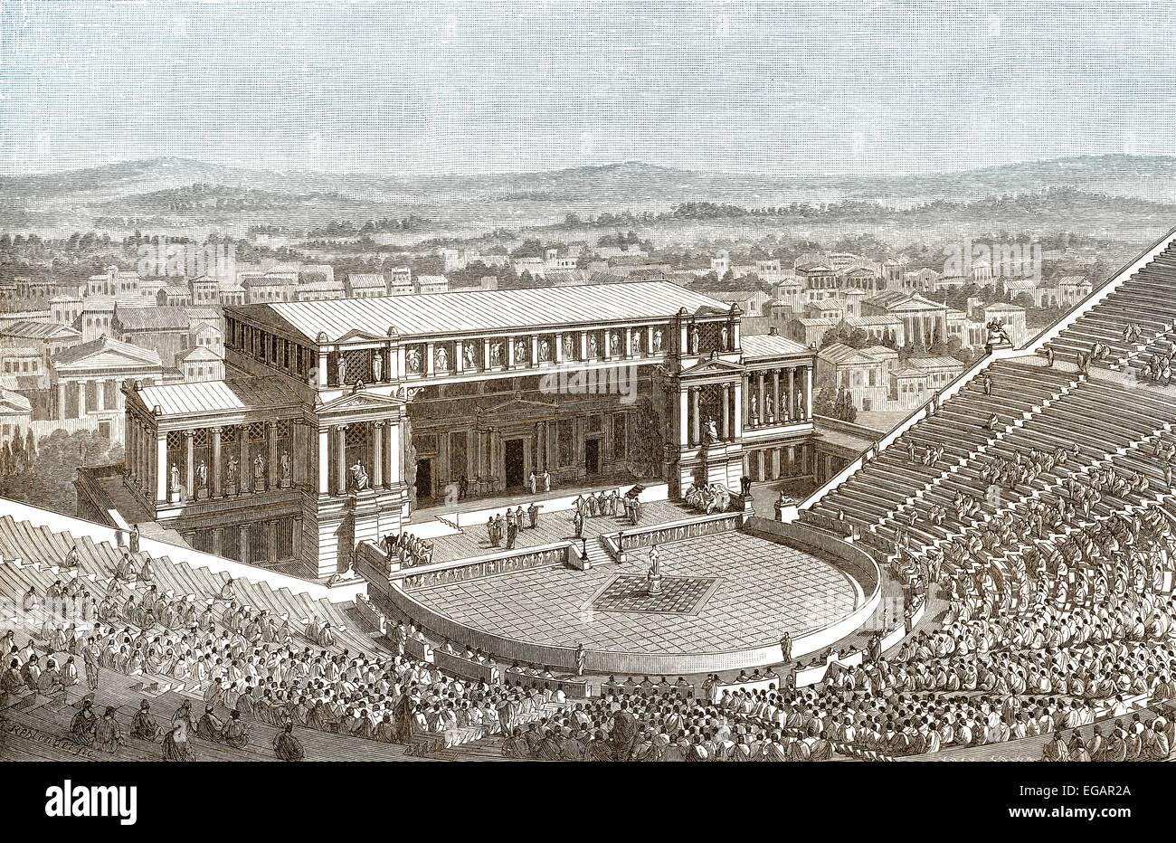 ancient greek theater the forerunner to Ancient greek theatre the english words for tragedy and comedy come from the language of the ancient greeks although the greeks were not the first to perform plays, they were very.