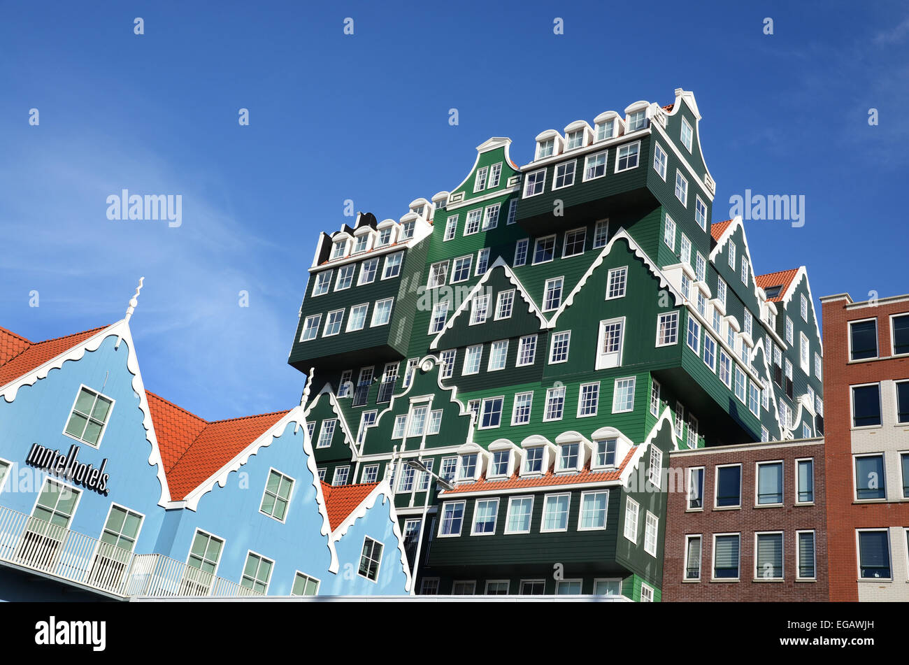 Quirky architecture of inntel hotel in zaandam for Quirky hotels
