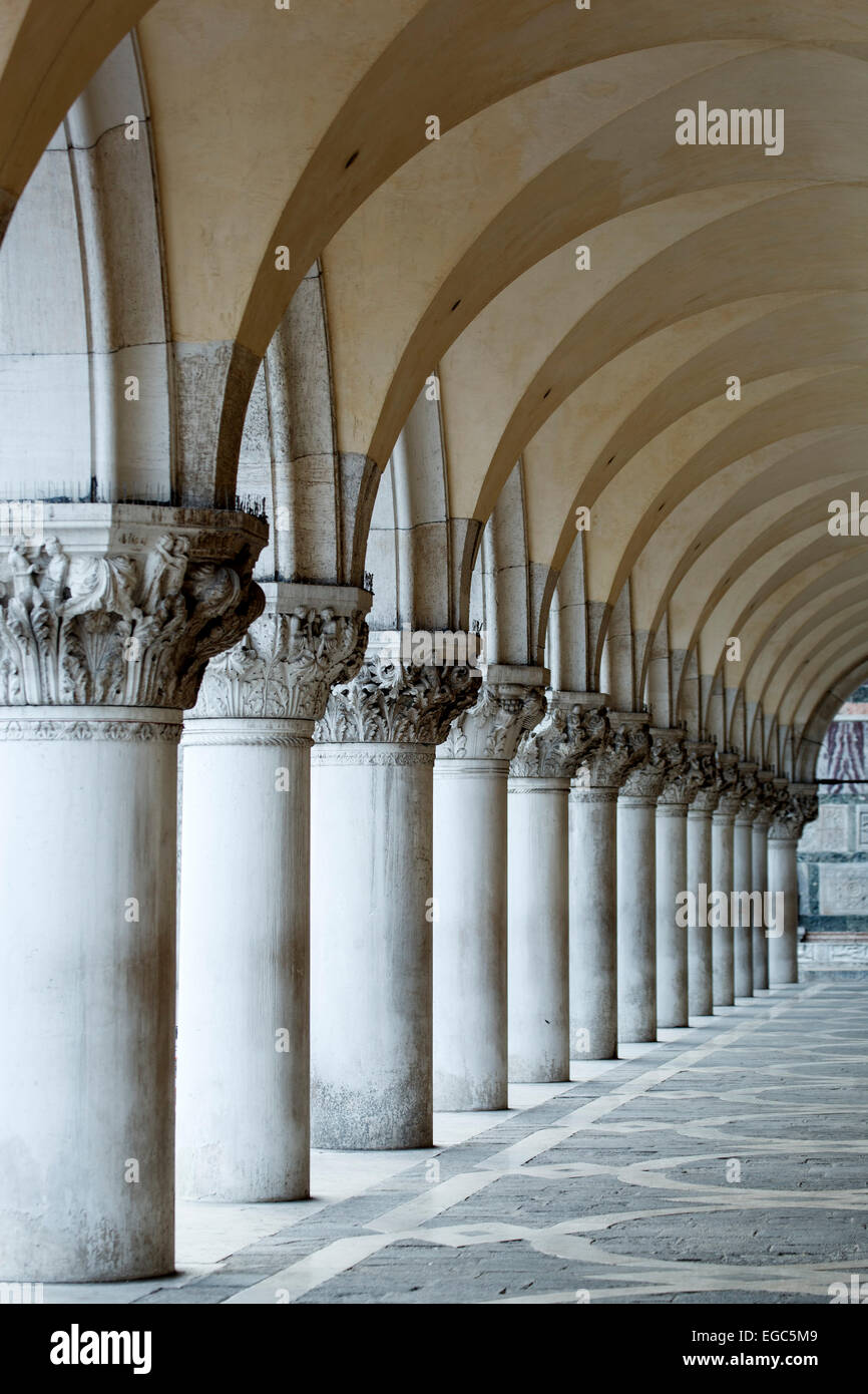 Columns And Arches Doge 39 S Palace St Mark 39 S Square