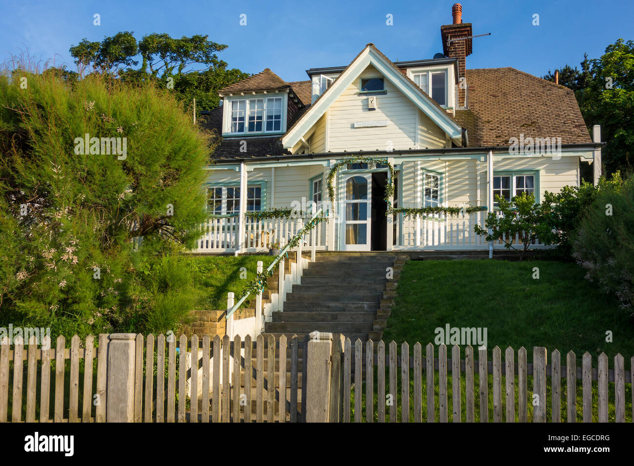 Coastal Home The Beacon House Whitstable Beach Kent UK Is On