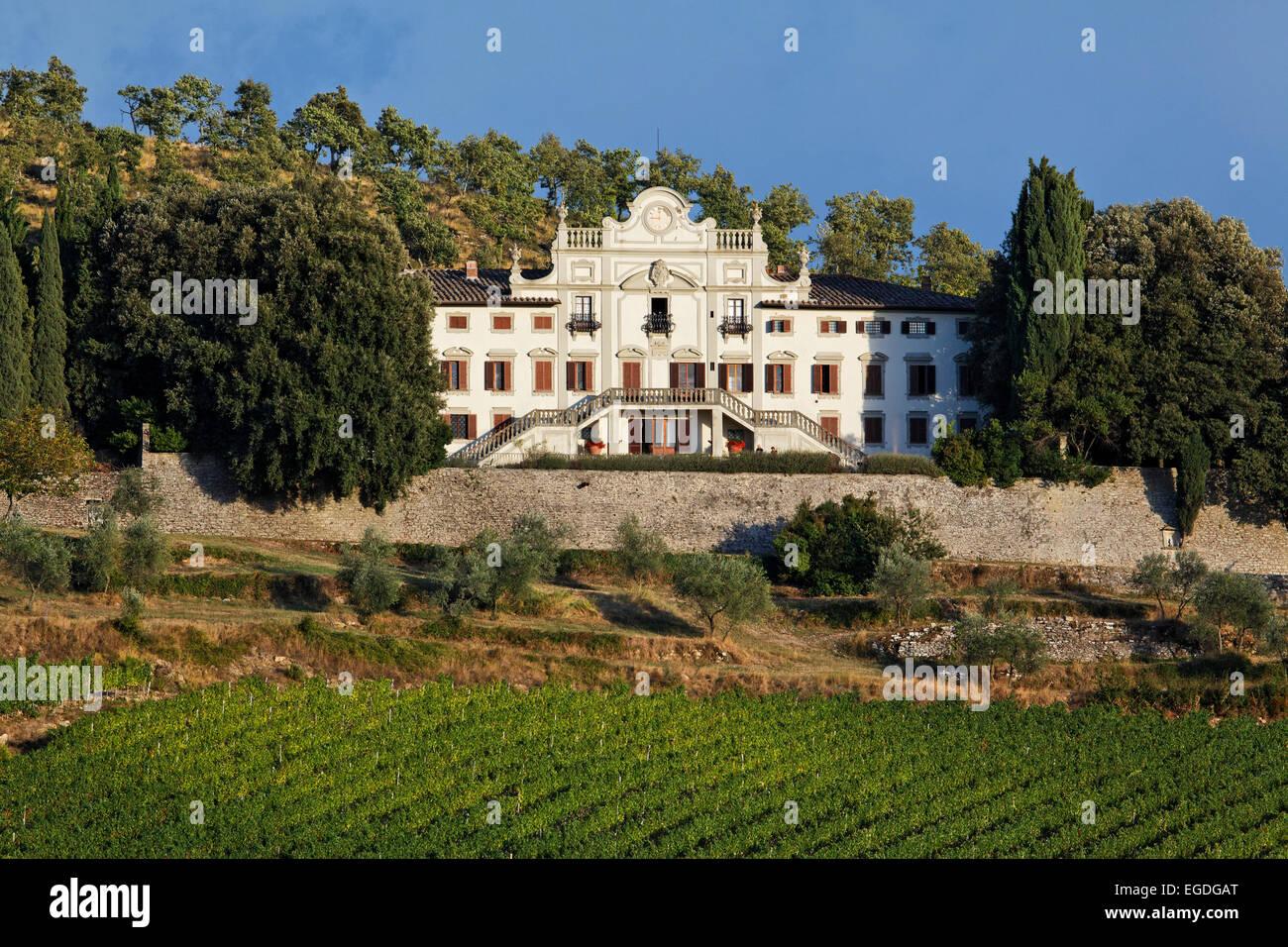 Winery Villa Vistarenni, Gaiole in Chianti, Tuscany, Italy ...