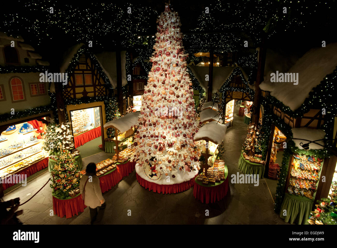 The Christmas Museum, Rothenburg ob der Tauber, Middle Franconia ...
