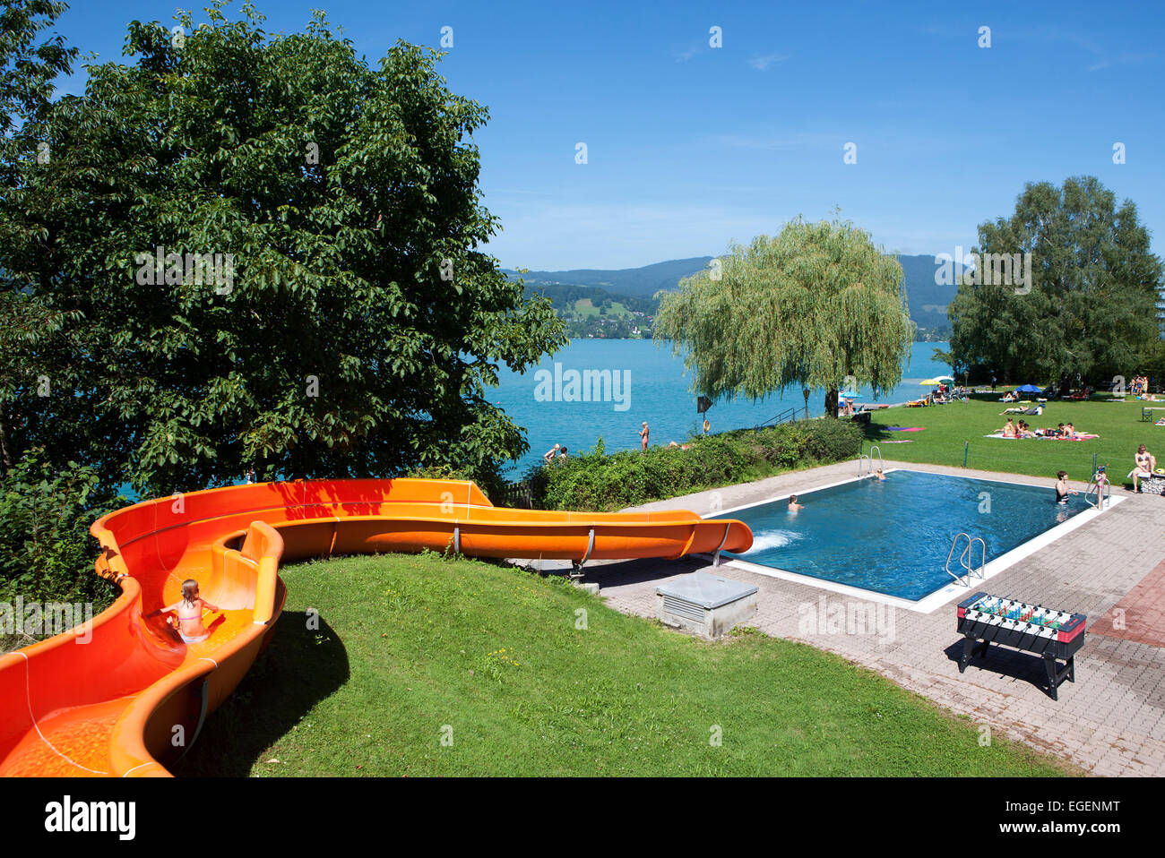 water slide stock photos u0026 water slide stock images alamy