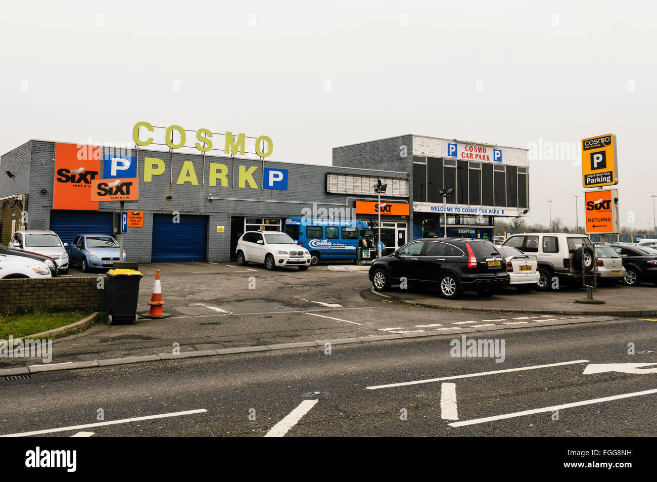 Mccausland Car Parking Belfast International Airport