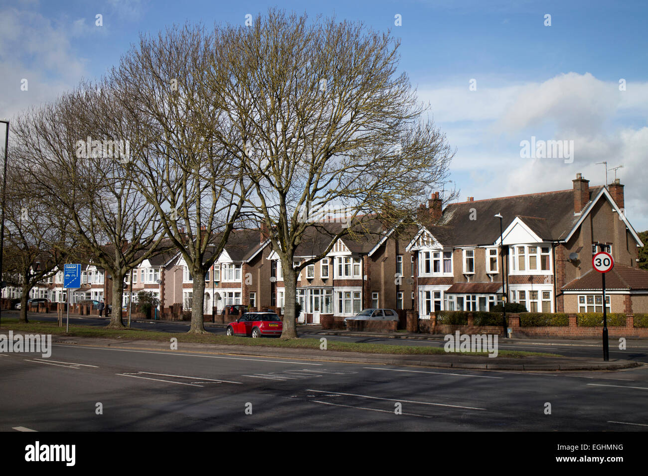Houses In Binley Road Binley Coventry West Midlands