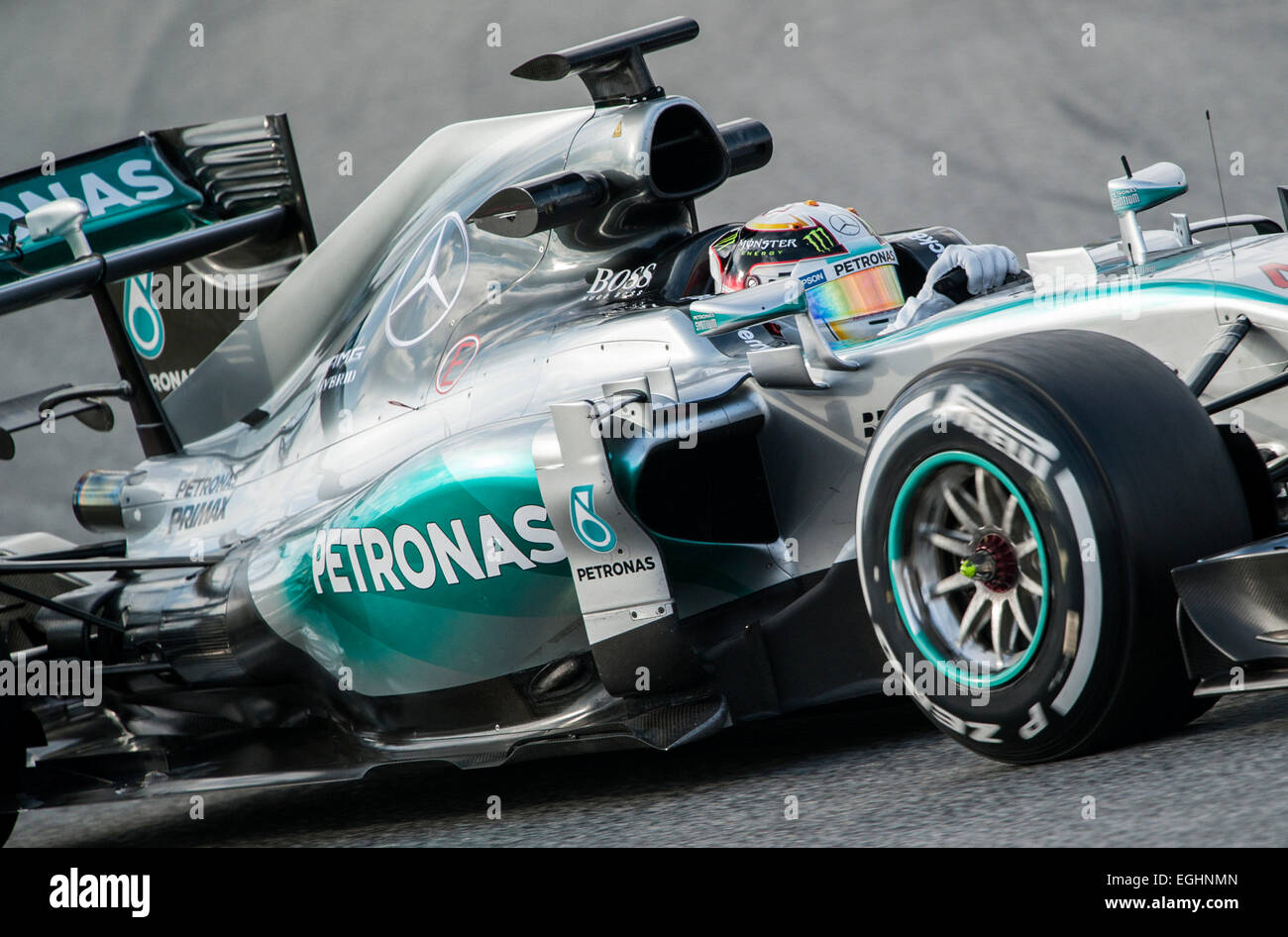 Lewis hamilton gbr mercedes benz amg petronas f1 team for Mercedes benz formula 1