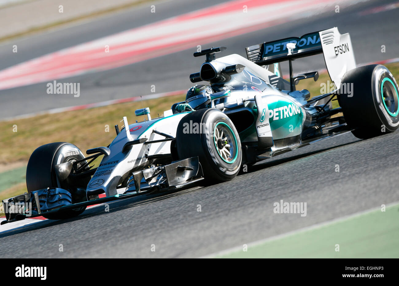 Nico rosberg ger mercedes benz amg petronas f1 team w06 for Mercedes benz petronas