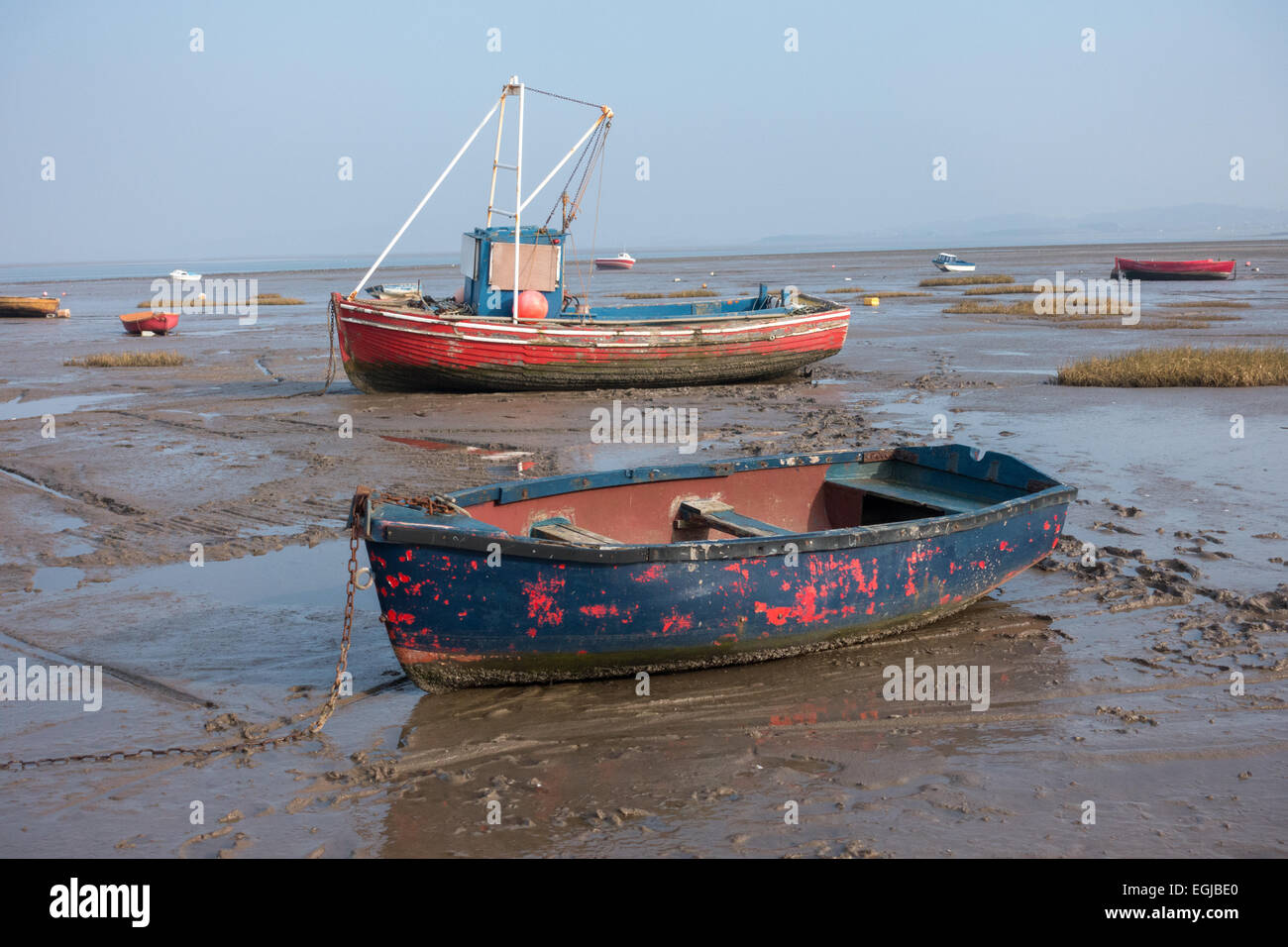 Inshore fishing boats in morecambe bay aground and for Inshore fishing boats