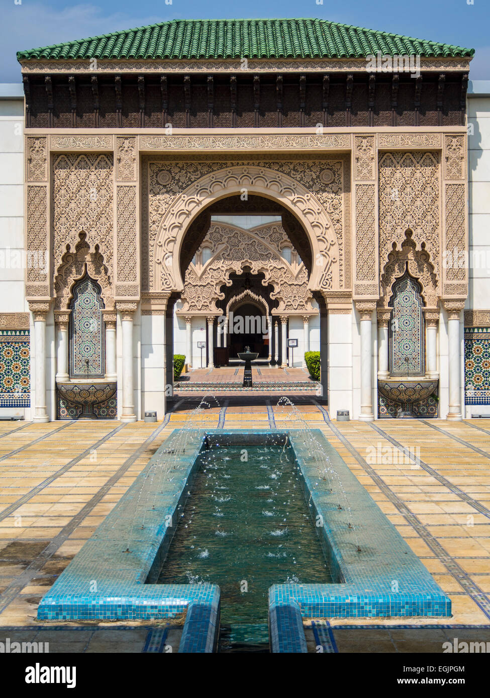 Inside The Moroccan Pavilion In Putrajaya Malaysia Stock