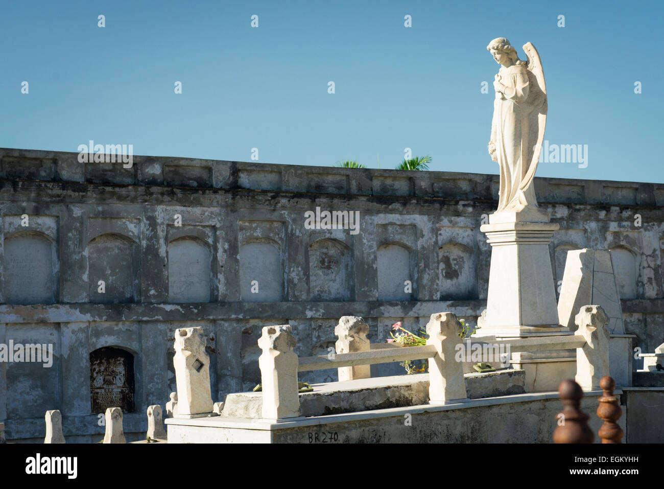 Cuba Cienfuegos Cementerio General La Reina Neo Classical ...