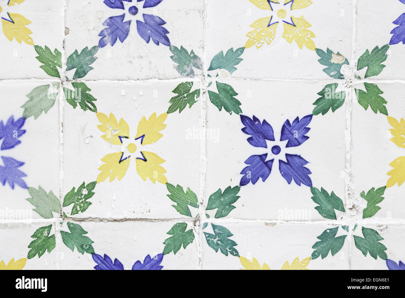 Typical old lisbon tiles detail of a classic ceramic tiles art of typical old lisbon tiles detail of a classic ceramic tiles art of portugal dailygadgetfo Choice Image