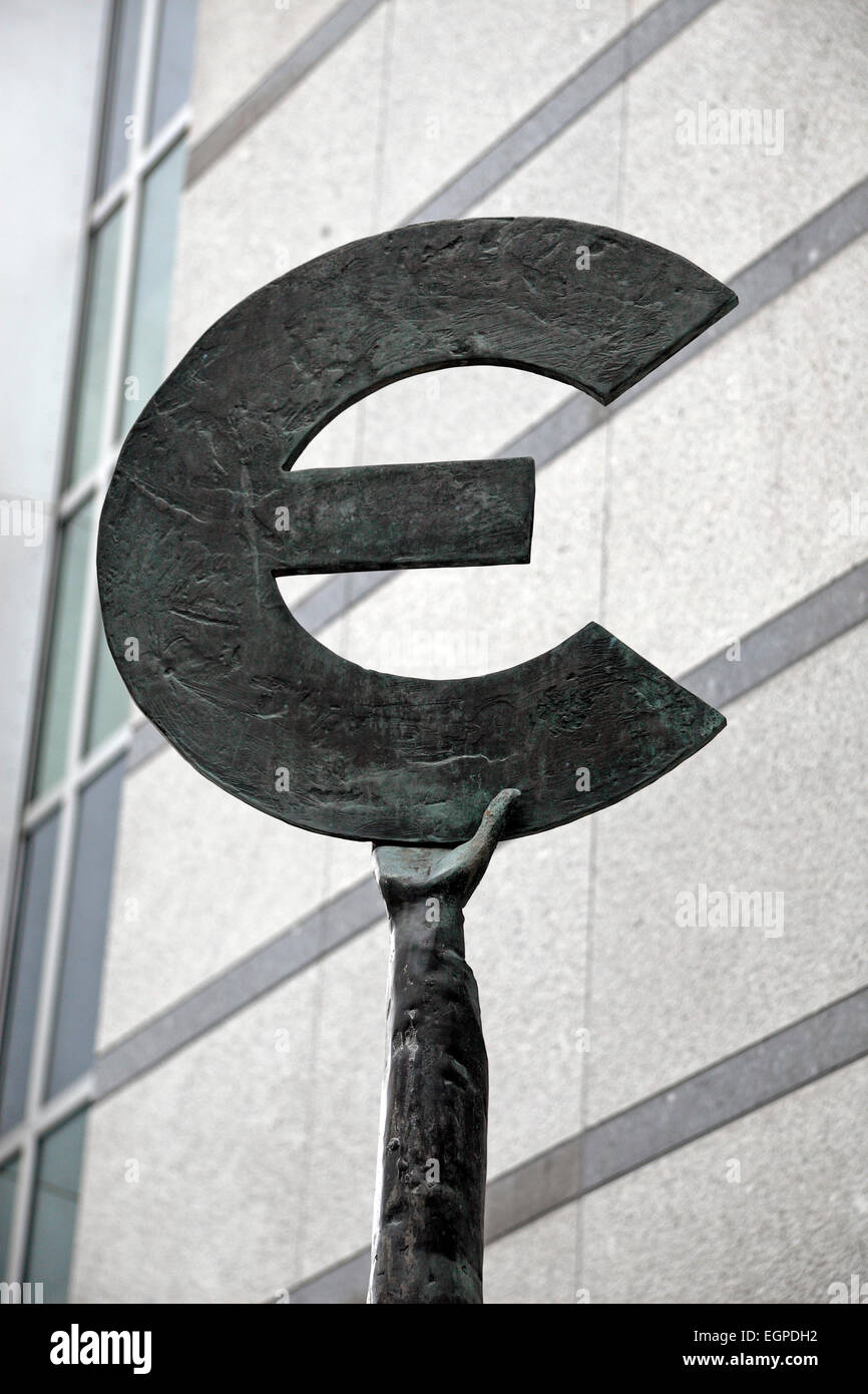 The symbol of the euro currency european parliament brussels stock the symbol of the euro currency european parliament brussels belgium biocorpaavc Images