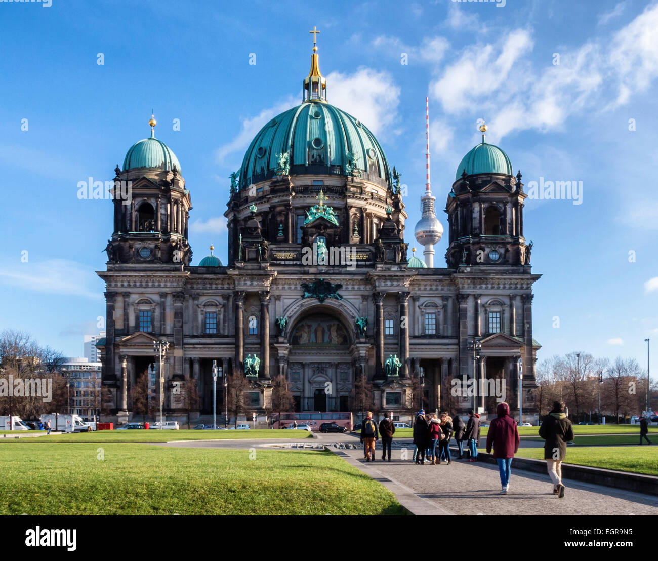 berlin dome berliner dom berlin cathedral protestant evangelical stock photo royalty free. Black Bedroom Furniture Sets. Home Design Ideas