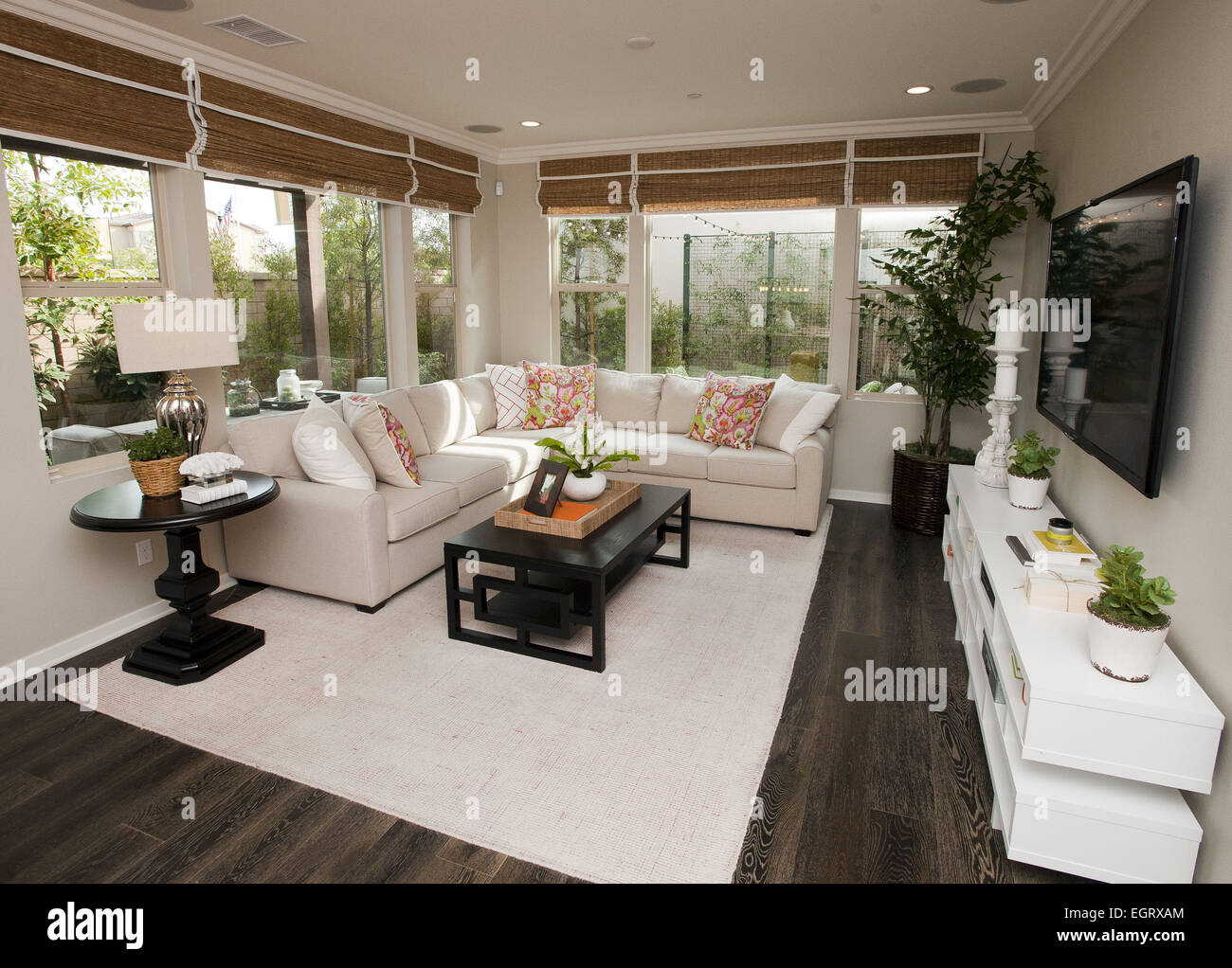 Model home furniture orange county