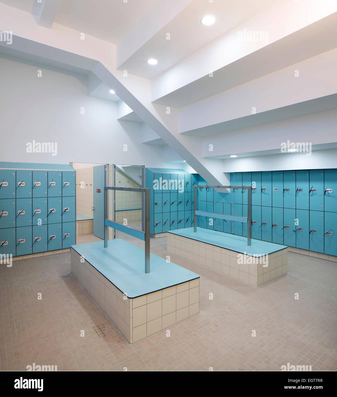 Ironmonger Row Baths Changing Rooms